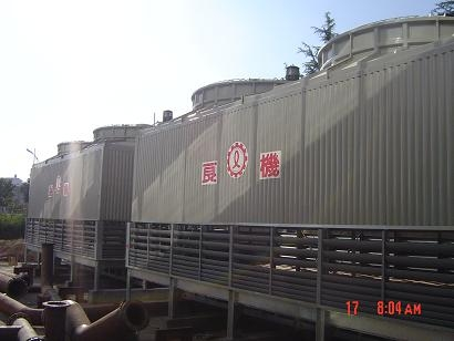 LDCM 方型逆流式冷卻塔