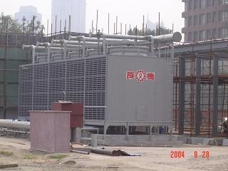 深圳LRCM-HL直交流式超低噪音型冷卻塔