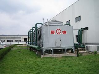 深圳LRCM-H方型橫流式冷卻塔